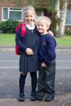 Duncan's first day at school